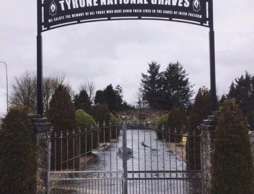 Tyrone National Graves, Garden of Remembrance, Carrickmore.